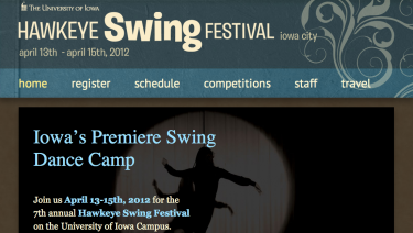 Hawkeye Swing Festival (The University of Iowa)