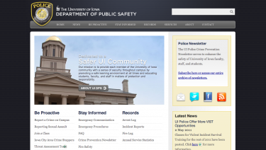 The University of Iowa Public Safety