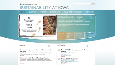 Sustainability at Iowa (The University of Iowa)