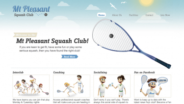 Mt Pleasant Squash Club - Christchurch