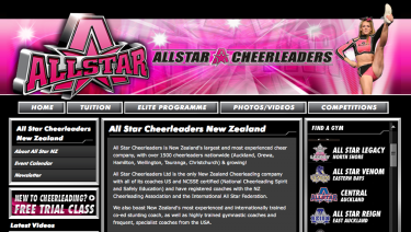 All Star Cheerleaders NZ