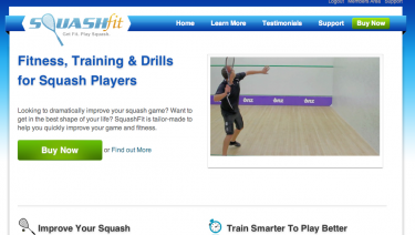 SquashFit - Squash Fitness & Training