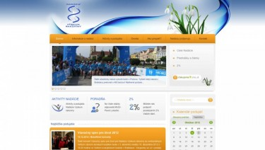 Website of Cancer Research Foundation