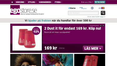Egostore.se - hair products online