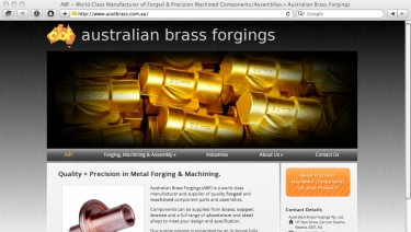 Australian Brass Forgings