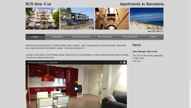 BCNtime4us Touristics Apartments in Barcelona