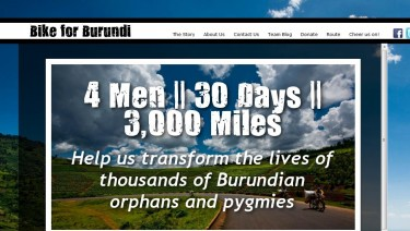 Bike for Burundi