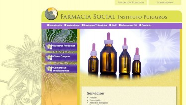 Instituto Puiggrós | Farmacia Social