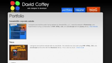 David Coffey's Professional Portfolio & Blog