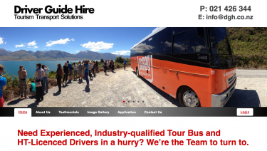 'Living the Dream' with Driver Guide Hire!