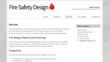 Fire Safety Design