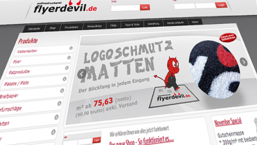 Flyerdevil - Online Shop