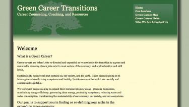 Green Career Transitions