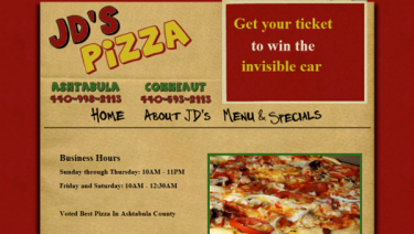 JD's Pizza