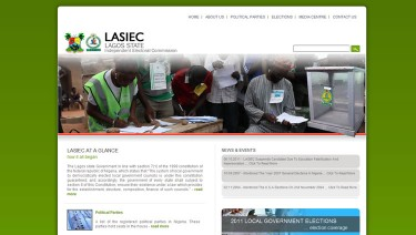 Lagos State Independent Electoral Commission Websi