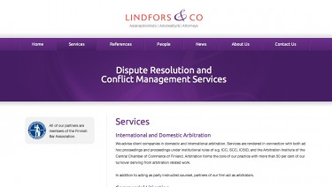 Lindfors & Co attorneys