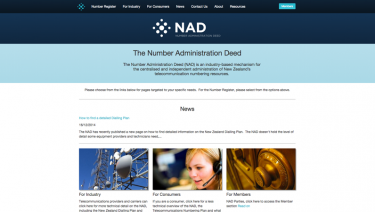 Number Administration Deed