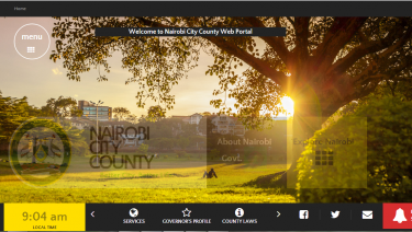 Nairobi City County Website