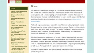 Pasta Sauce Recipes