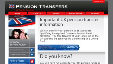 Pension Transfers Australia