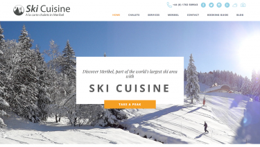Ski Cuisine - Booking System