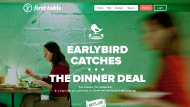 First Table - Earlybird Dinner Deals