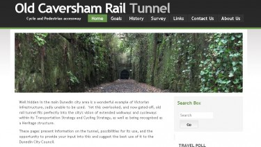 Old Caversham Rail Tunnel