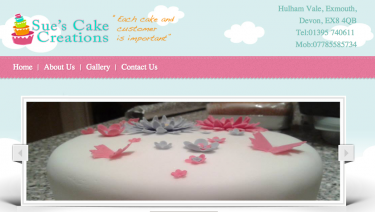 Sues cake creations