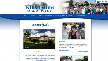 The Falls Estate Lifestyle Retirement Village