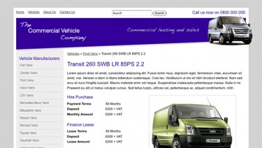 Commercial Vehicle Sales and Leasing
