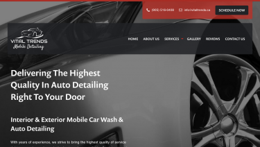 Vital Trends Mobile Auto Detailing
