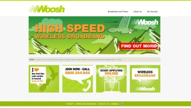 Woosh Website
