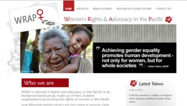 Women's Rights and Advocacy in the Pacific