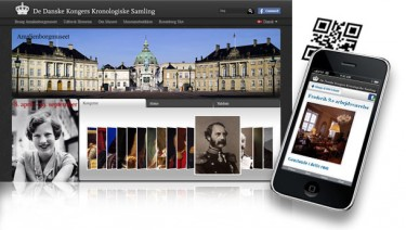 Web & Mobile Site for the Royal Danish Collections