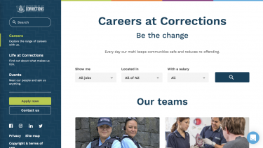 Careers at Corrections