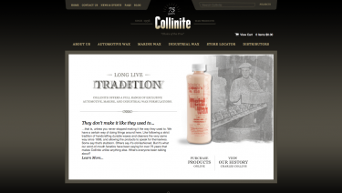 Collinite Auto, Marine and Industrial Wax Products