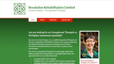 Lorraine Murphy is an experienced Occupational Therapist.