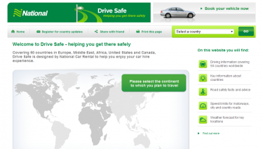 National Car Rental Drive Safe