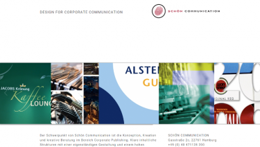 Schoen Communication - Design for Corporate Communication