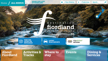 Destination Fiordland