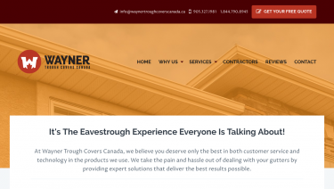 Wayner Trough Covers Canada