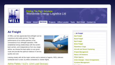 Worldwide Energy Logistics
