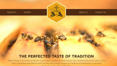 SliskoHoney.com - Croatian natural honey