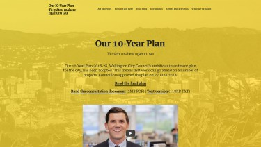 Wellington City Council - Our 10-Year Plan