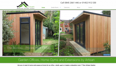 Artisan Garden Rooms