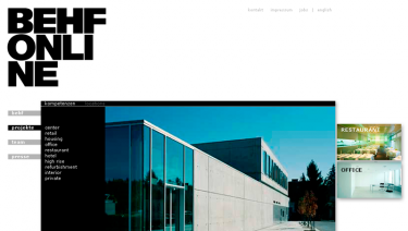 BEHF Architects Website