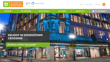 Downtown Boston Comes Alive Online