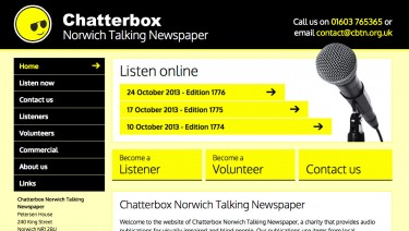 Chatterbox Norwich Talking Newspaper