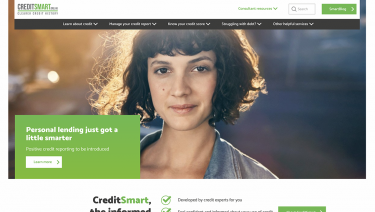 CreditSmart website