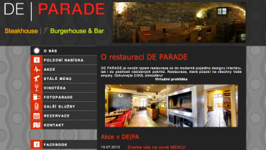 De | Parade - Restaurant, Steakhouse and Bar